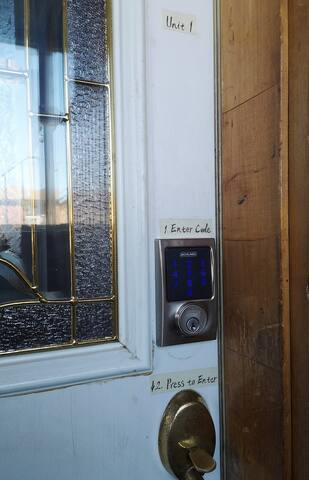Easy self-check-in with a passcode to the smart lock