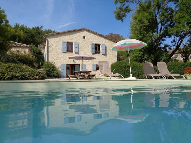 Maison de Campagne avec piscine à Valprionde - Valprionde