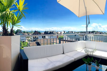 Luxurious room penthouse apartment - Friedrichshafen