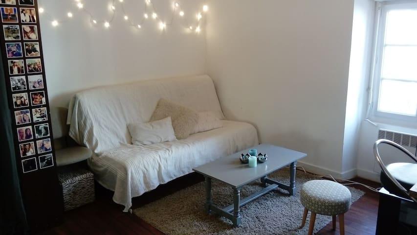Studio centre ville proche Ralliement - Angers - Apartamento