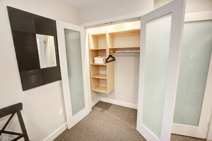 All 2nd  floor bedrooms have closets with built-in organizers and motion detection lighting