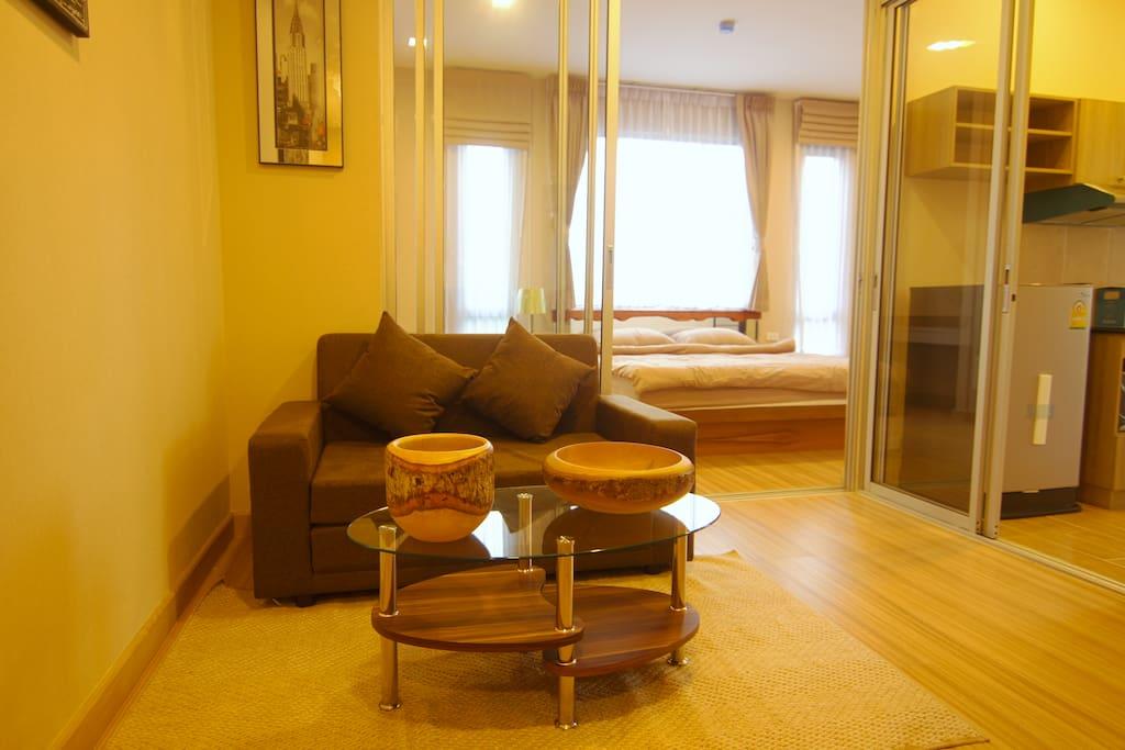 Spacious room, over 35 sq. meter