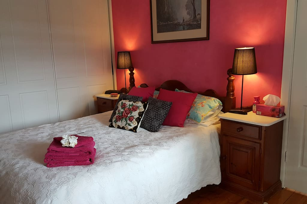 """""""I enjoyed the unforgettable personal touch, the beautiful room with a great bed""""  (Wout from Vaals Netherland)"""