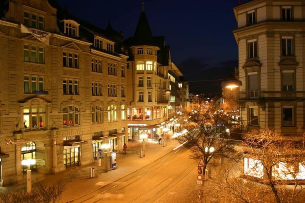 Stauffacher by night