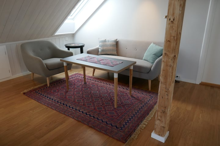 Vinderen, Spacious attic apartment
