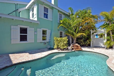 Cancel at Anytime! Beach Side Oasis W/ Pool, Short Walk to Restaurants