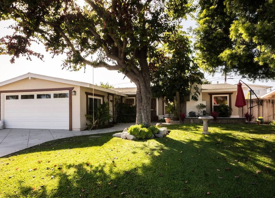 Typical Californian single story home - Luxury remodel. Private, homely with large front and rear landscaped gardens
