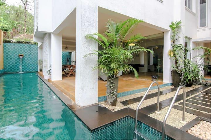 Elegant 2 Bedroom Apartment Near Candolim