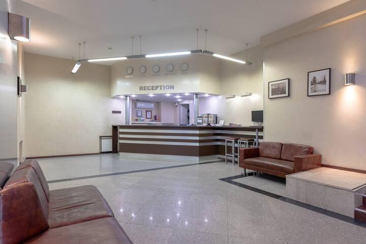 Недорогой отель в центре с комфортными номерами