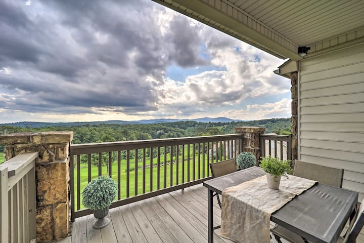 NEW! Mtn Retreat w/ Pool + Impressive Golf Vistas