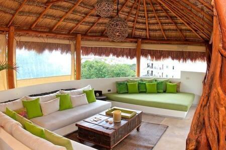 Private Room in a Cool Penthouse - Playa del Carmen - Condominium