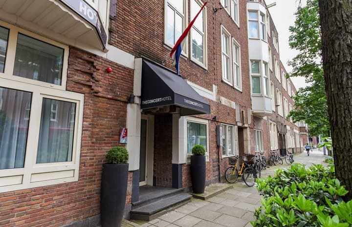 Hotel kamer Amsterdam Centrum-Museumplein