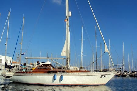 Classic wooden yacht - Casa Amarilla - Boot