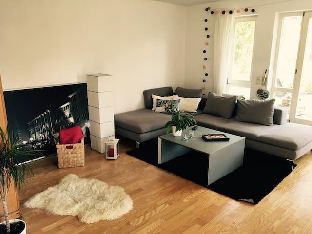 Großzügige Wohnung mit Garten - Freiburg im Breisgau - Apartamento