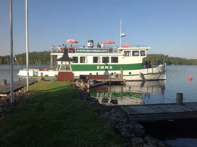 Emma Laiva - Imatra - Båt