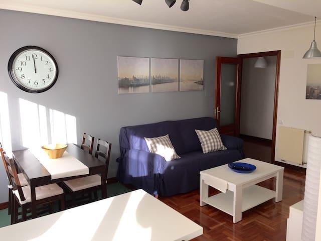 Apartamento centro y cerca de la Playa de Gijon