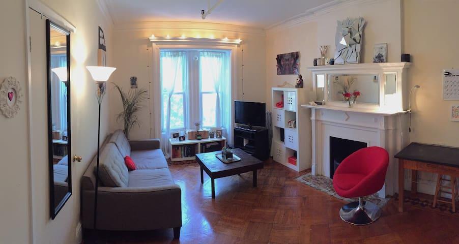 Quaint Historic Brownstone- Room 1 of 2