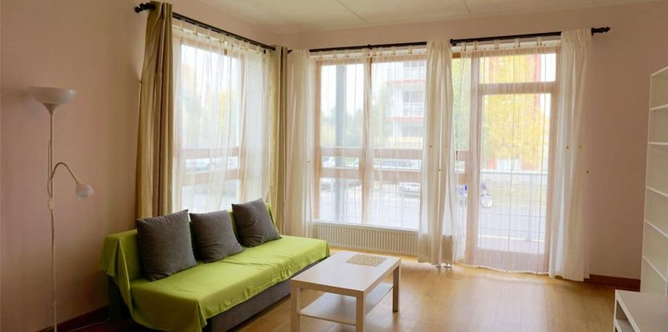 Cosy apartment (69m2), with green environment - Riga - Appartement