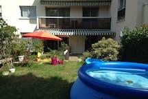 Beautifull Flat in Meudon (70m2) + Garden (150m2)