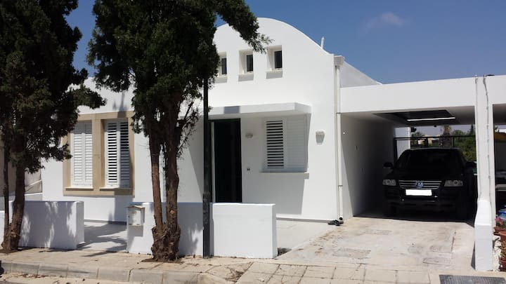 Mykonian Style Private Villa by the sea