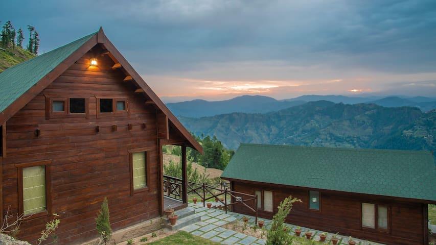 Duplex Hut   Woodays Resort   Himalayan   Tranquil