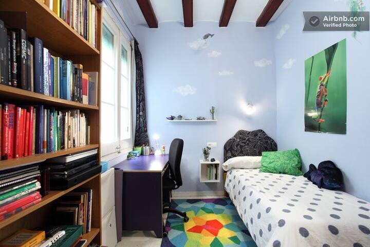Private single bedroom close to the cathedral - Barcelona - Apartamento