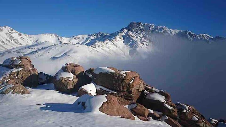oukaimeden  chalet de montagne