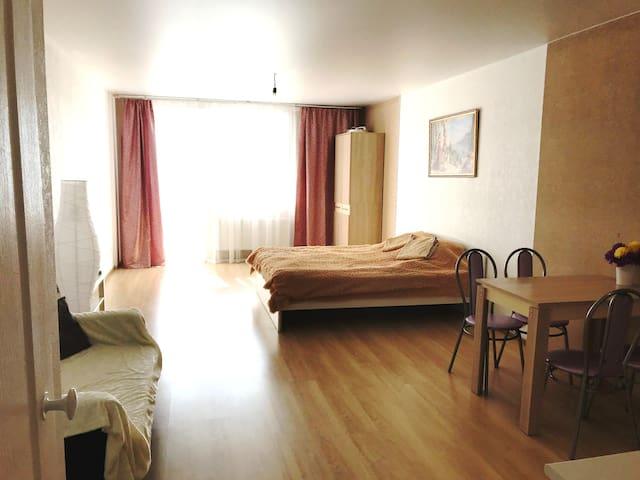Квартира-студия на 16м этаже с прекрасным видом