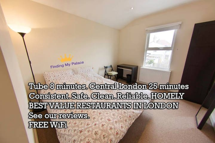 Tooting Primo Room Tube 7 Minutes - Londen - Huis