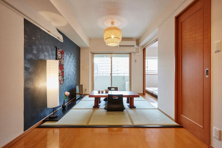 3min walk to Asakusa St NEW & CLEAN w/WiFi - Taitō-ku - Huoneisto