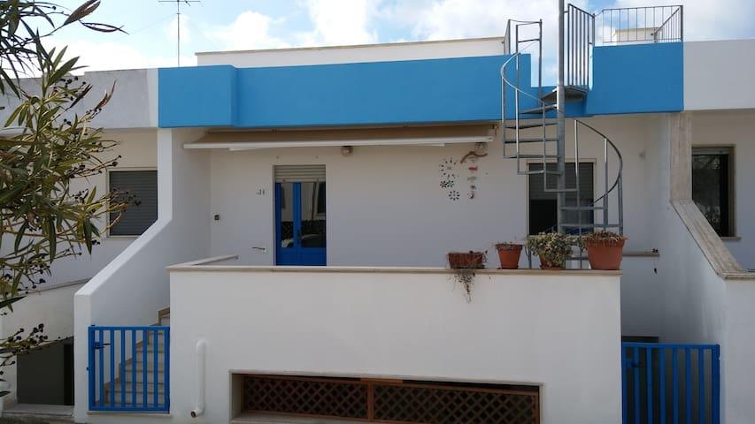 Grazioso appartamento Blue vicino al mare - Marina San Gregorio - House