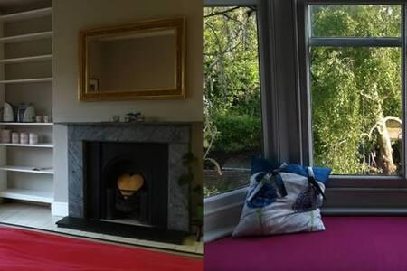 Very large double bedroom, downs views, Lewes - Croydon - Bed & Breakfast