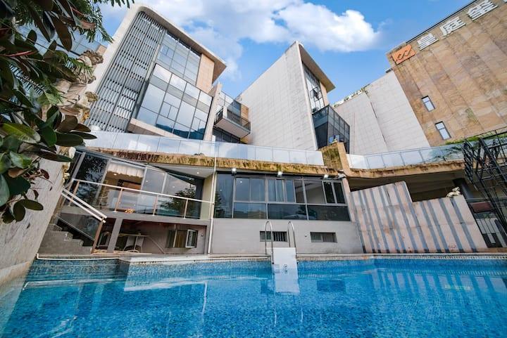 深圳大小梅沙9房度假聚会轰趴泳池别墅