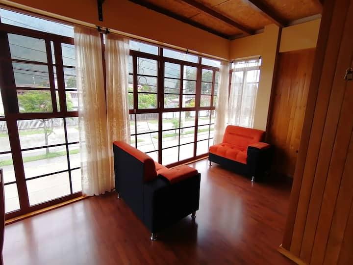 Alojamiento, céntrico departamento en Oxapampa.