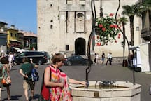 Piazza castello Catle plaza
