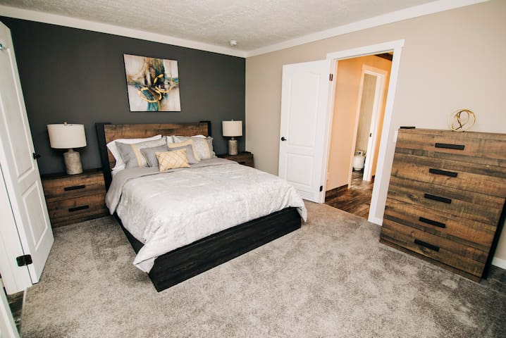 Master Bedroom with Coaster Furniture