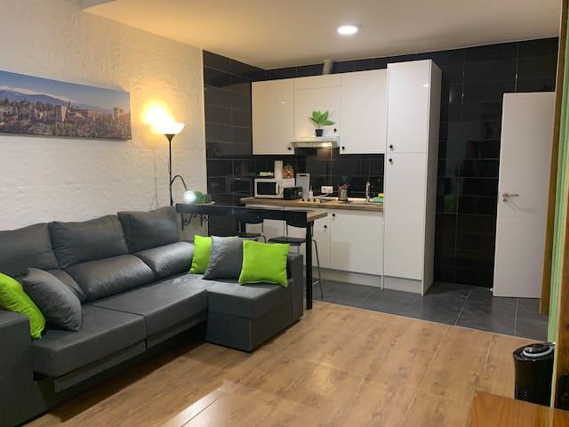 Apartamento en centro de Granada, con WIFI