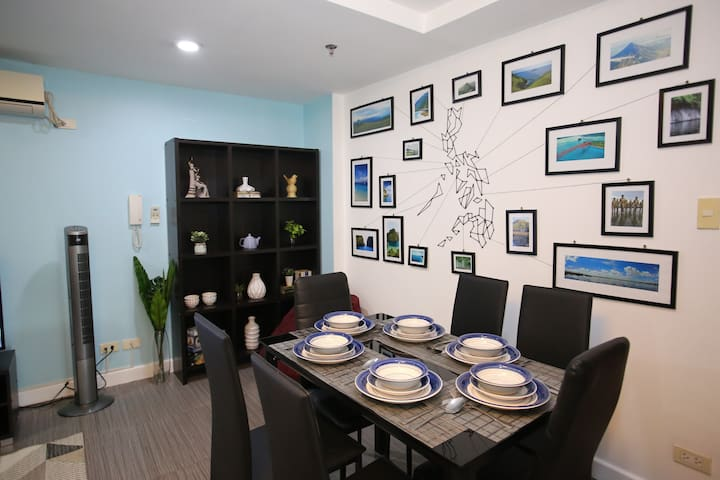 Family Two Bedrooms Apartment in Ortigas @ Indigo