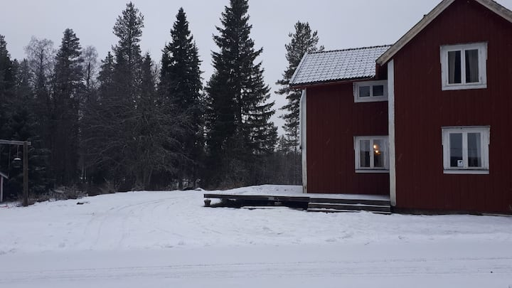 maison typique pleine nature