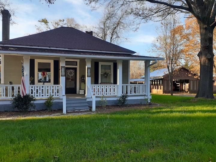 Senoia Stately Farmhouse minutes from downtown