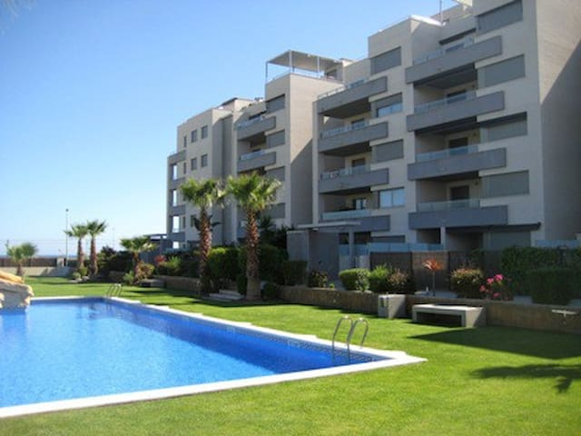 Very well equipped, pool, 250m from the beach - Torredembarra - Condominium