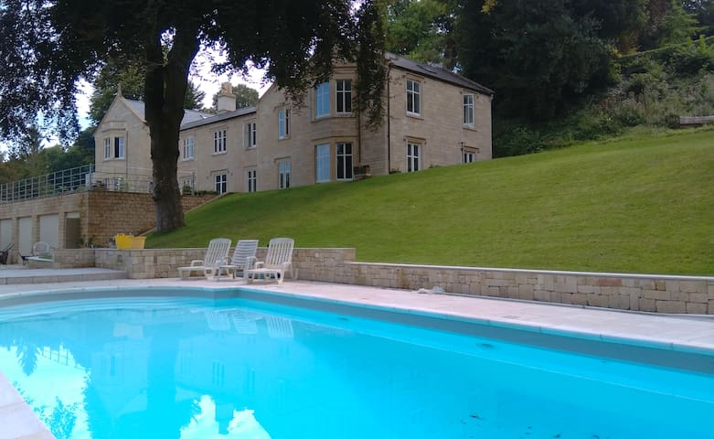 Fabulous country house with swimming pool - Limpley Stoke - Casa