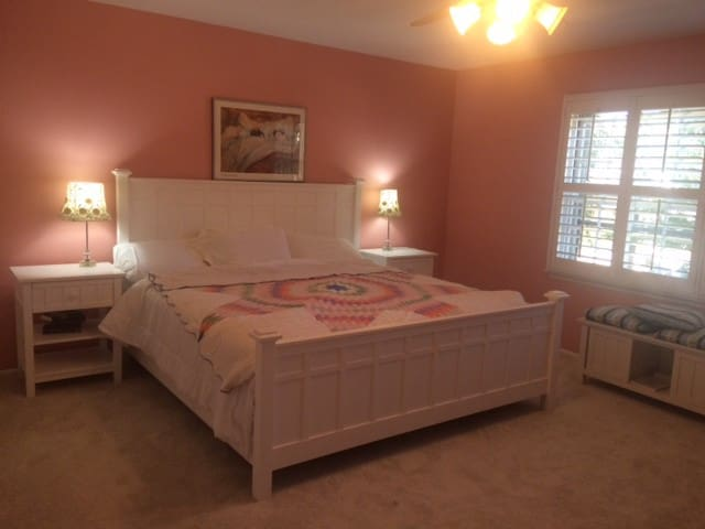Private room, king size bed & bathroom ensuite! - Wilmette - Bed & Breakfast
