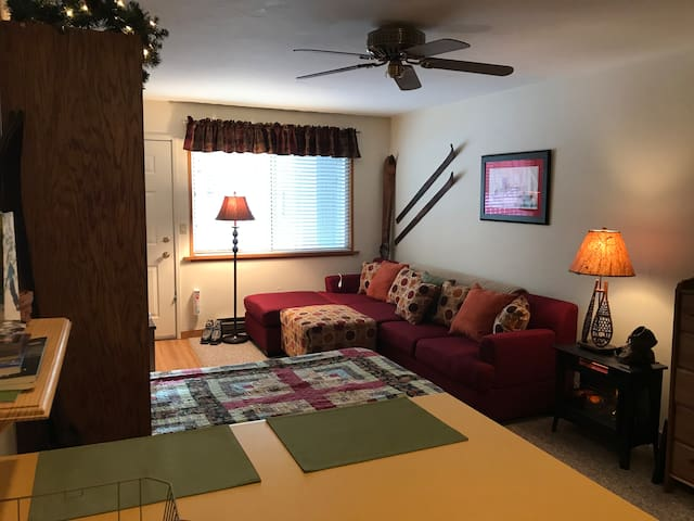 Great Reviews - Clean, Cozy Studio Condo in Hunter