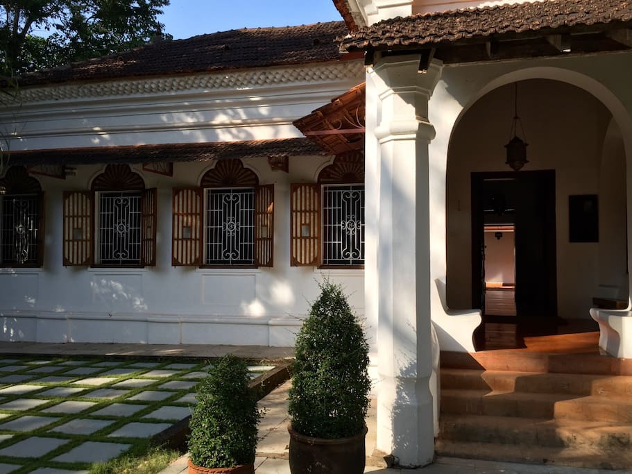 The Villa Goa is a legacy of a glorious past