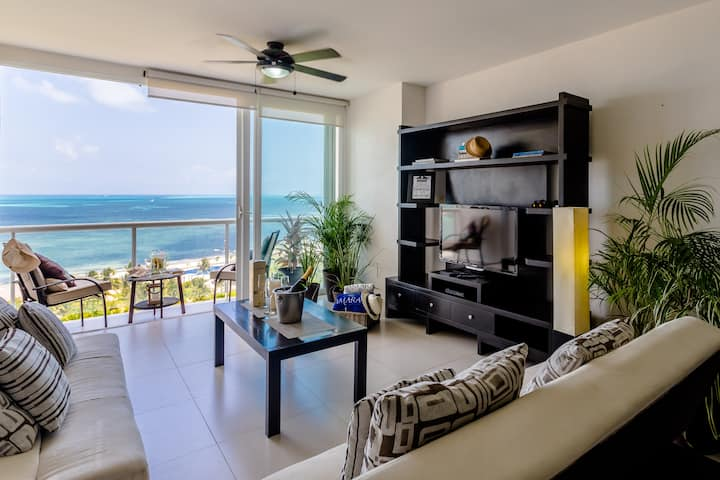 *OFERTA APARTMENT AMARA CANCUN BEACHFRONT CARIBE*2