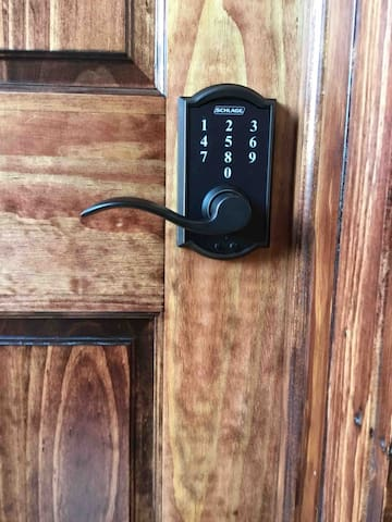 A personal PIN number for your room.
