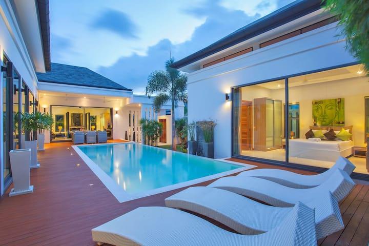 Superbe Villa de luxe, Piscine, 3 chambres, Rawai