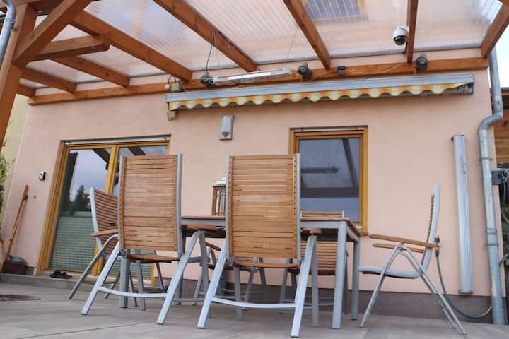 Ferienwohnung im Himmelreich mit Sauna und Pool