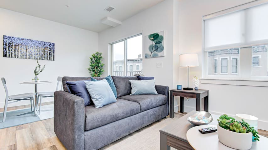 Stylish 1BD apartment in downtown Indianapolis